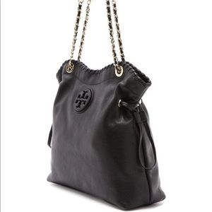 Tory Burch $500 Marion slouch tote